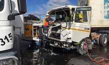 Cape Town N7 truck crash leaves one injured