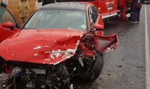Three injured in head-on collision, Westonaria