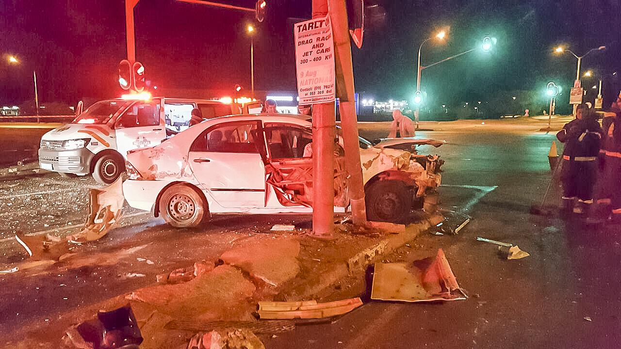 Krugersdorp crash leaves 1 dead three injured