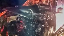 Warden N3 crash leaves man and man's best friend injured