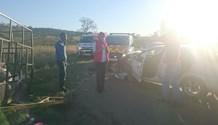Car crashes into trailer injuring four, Pietermaritzburg