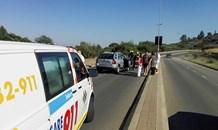 Three injured in collision along Albrecht Street in Bloemfontein