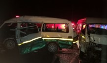 Two taxis collide injuring 14 on the M1 in Marrionhill in KwaZulu-Natal.