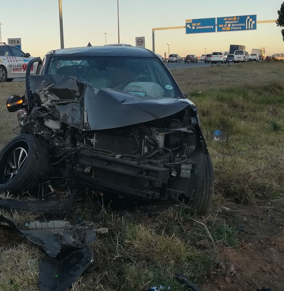 one person killed in a single vehicle accident on the n3 direction