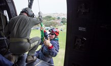 Netcare 911 paramedics from KZN train with Air Force