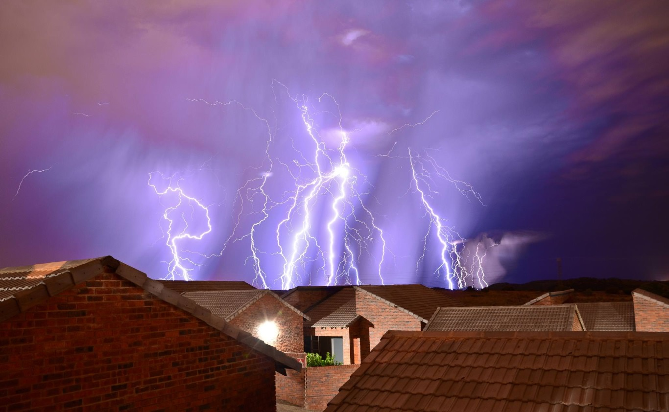 Lightning protection of a private house: I love storm