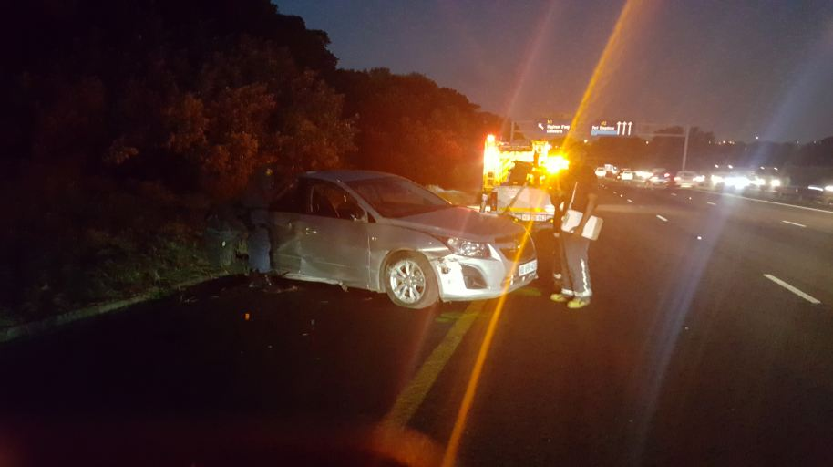 Fatal accident on the N2 South before the M1