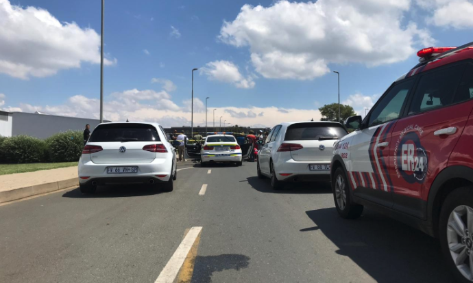 Modderfontein shooting incident leaves two men critically injured