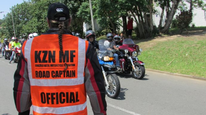 How important is good relations with traffic enforcement authorities for group rides - can bike clubs offer assistance to traffic officials to ensure safety?