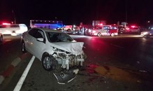 Pregnant woman (7 months) critically injured in collision