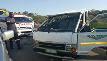 15 Injured in taxi rollover on N2