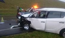 Three injured in collision in the Ntshongweni area, Kwa-Zulu Natal