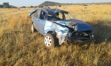 One person critical after rollover on Koffiefontein road about 90 km from Kimberley.