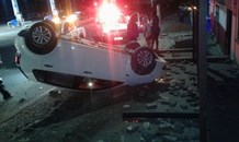 No injuries following roll-over in Margate