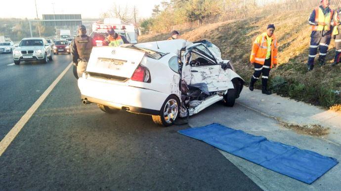 JHB: Fatal crash on N3 near Buccleuch Interchange