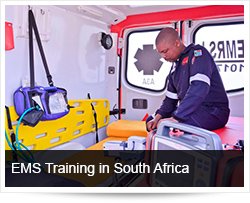 Paramedic and EMS Training in South Africa
