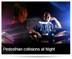 Pedestrian collisions at Night - Arrive Alive