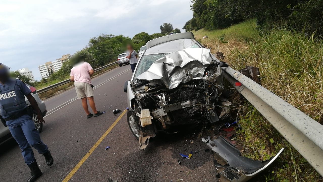 KZN: Two dead in M4 head on crash