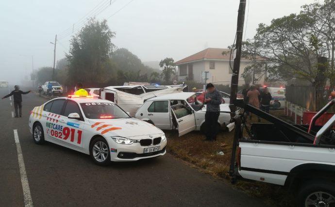 10 injured in a crash on Golf Road in Epworth Pietermaritzburg