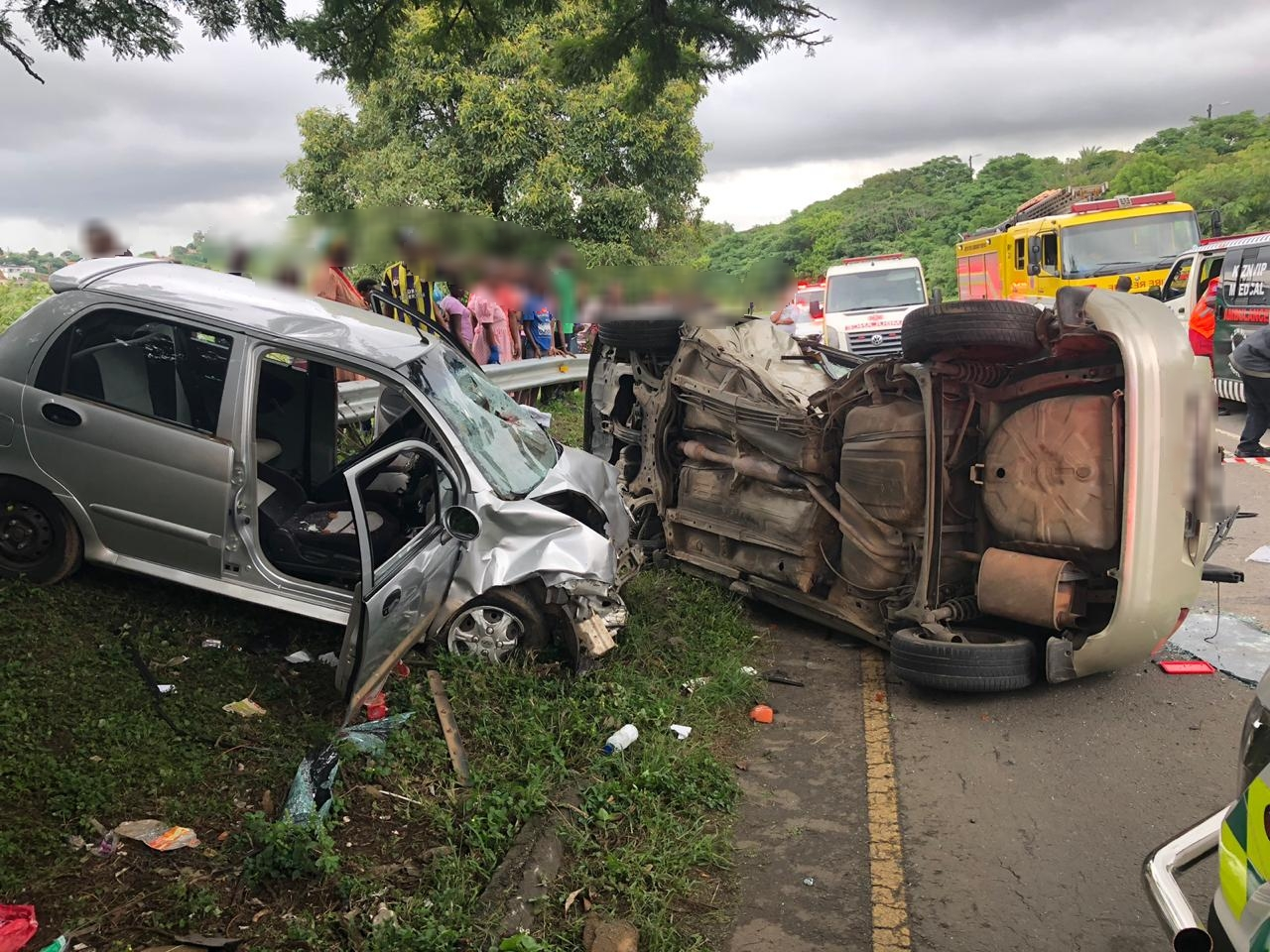 KZN: Seven injured in Verulam crash - Arrive Alive