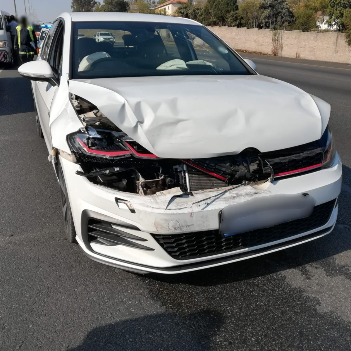 Gauteng: Fortunately no injuries reported on N1 crash in
