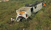 Scores hurt in Bus crash on the R603 near Adams College in the Umbumbulu area