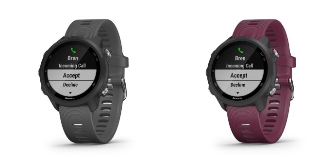 On the road with the Garmin Forerunner 245