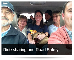 Ride sharing/Carpooling and Road Safety