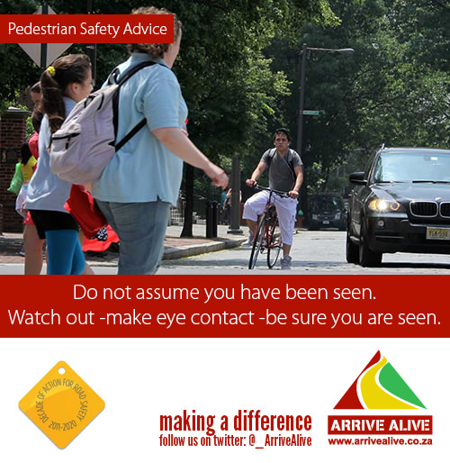 Road Safety & Pedestrian distractions while walking in traffic