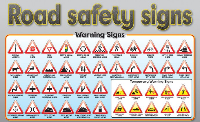 Traffic Signs Of South Africa