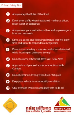 10 Road Safety Tips
