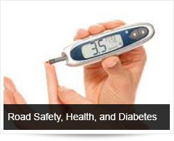 Road Safety and Health, Learn About Your Health - Diabetes