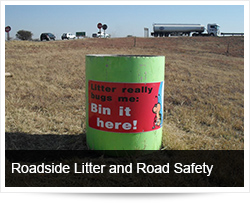 Roadside Litter, Environmental Protection and Road Safety