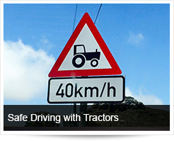Safe Driving with Tractors and Preventing Tractor Accidents