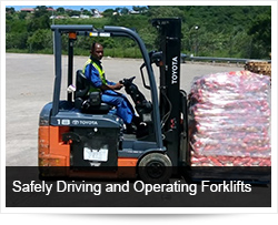 Safely Driving and Operating Forklifts