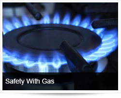 Safety with gas