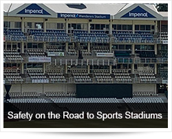 Safety on the Road to Sports Stadiums
