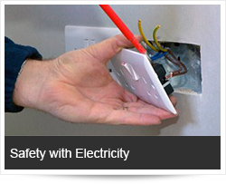 Safety with Electricity and Preventing Electrocution & Fire safety electricity