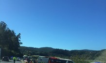 Seven injured in bakkie collision on the N2 just outside Knysna