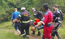 Off road biker rescued after being found deep in dense bush area