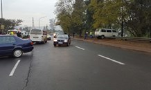 Six children injured in taxi accident, Pietermaritzburg.
