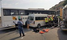 Multiple injured in taxi crash on South Coast Road near the N2 offramp