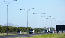 New N7 highway street lights improve safety and visibility