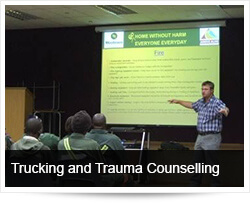 The Trucking and Freight Industry and Trauma Counselling