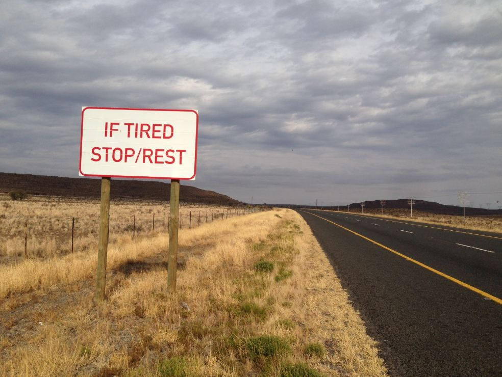 Image result for traffic sign tired