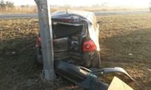 Two collisions leave two injured, Vanderbijlpark.