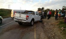 16 Injured in two collisions in one hour
