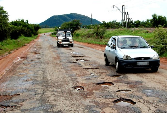 Vehicle Fitness for Driving on Roads with Potholes