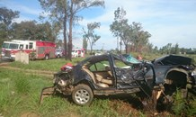 Critically injured driver airlifted from Meyerton