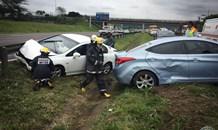 Multiple Motor Vehicle Collision on the N2